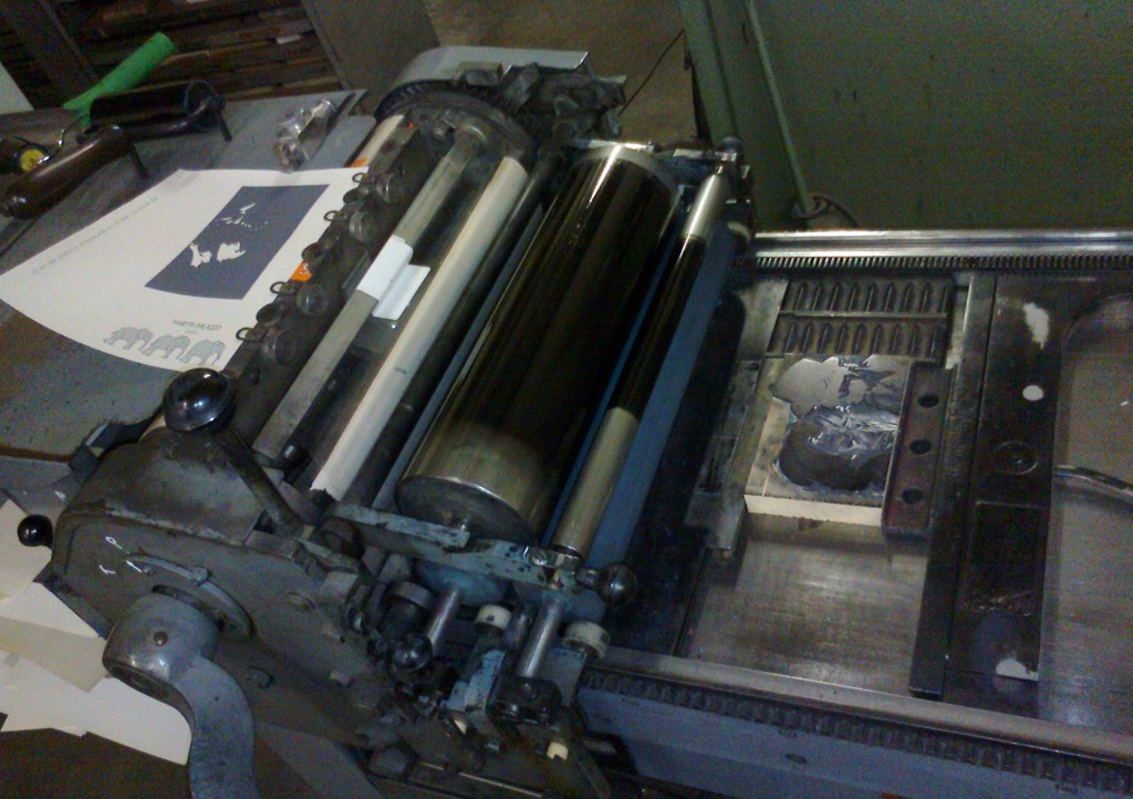 Vandercook SP-15 Cylinder Press