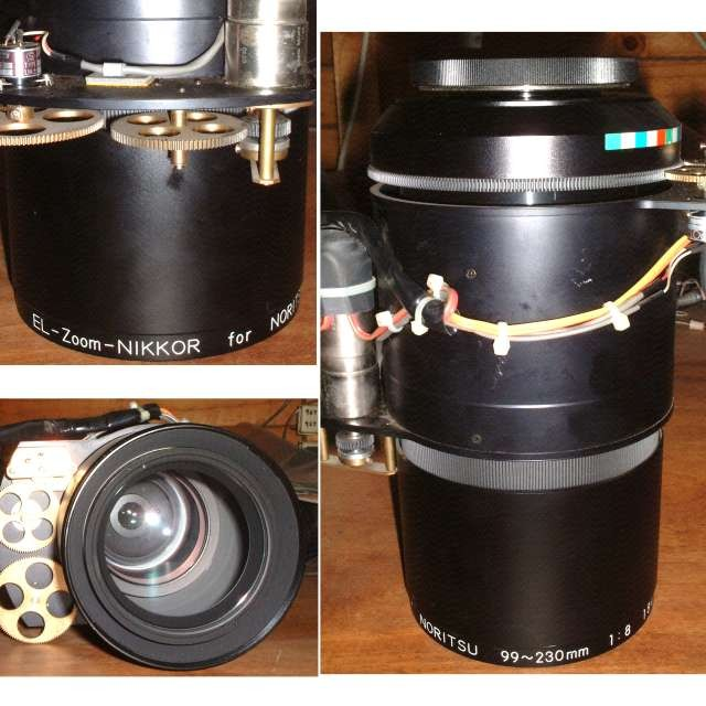Giant servo controlled Enlarger Lens
